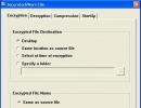 Encryption-Decryption Settings