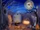Happy Saint Halloween Clock Live Animated Wallpaper © StrikePill