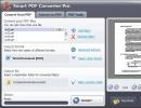 Convert from PDF Tab