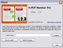About A-PDF Number Pro