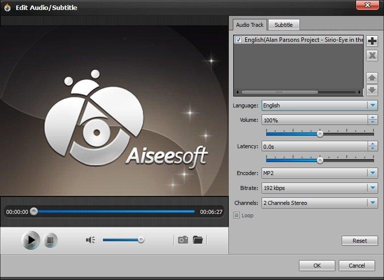 Edit Audio Subtitle