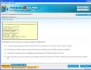 Exam Simulation Window