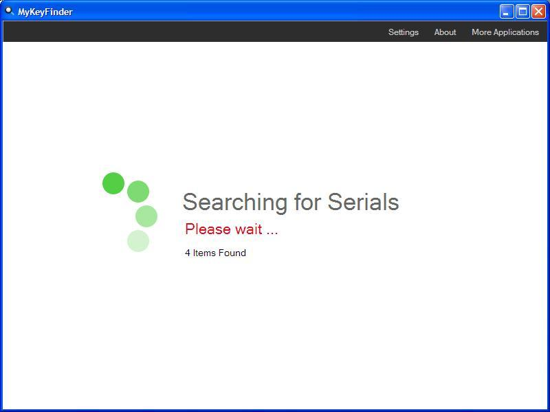 Searching for Serial Numbers