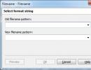 Filename to Filename Conversion