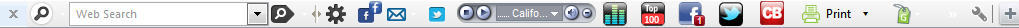 Toolbar Interface
