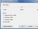 Blu-ray Video Encoding Settings