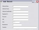 Add Record