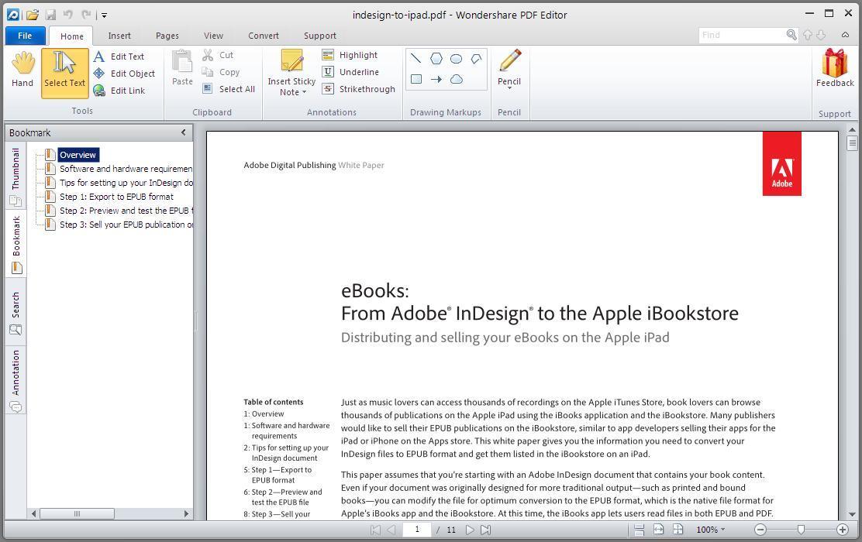 Viewing a PDF File