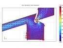 Flow calculation screenshot.