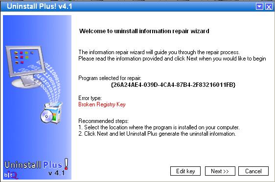 Registry Key Repair