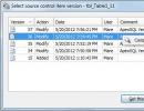 Source Control Window