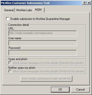 Quarantine manager enabler