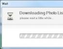 Downloading Photo List