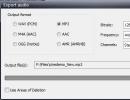 Audio Extraction