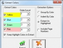 Extract Colors Window