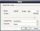 Output File Settings