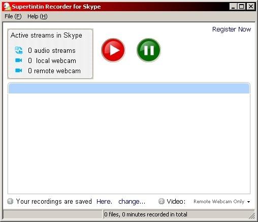 Skype Window