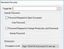 Encrypting PDF