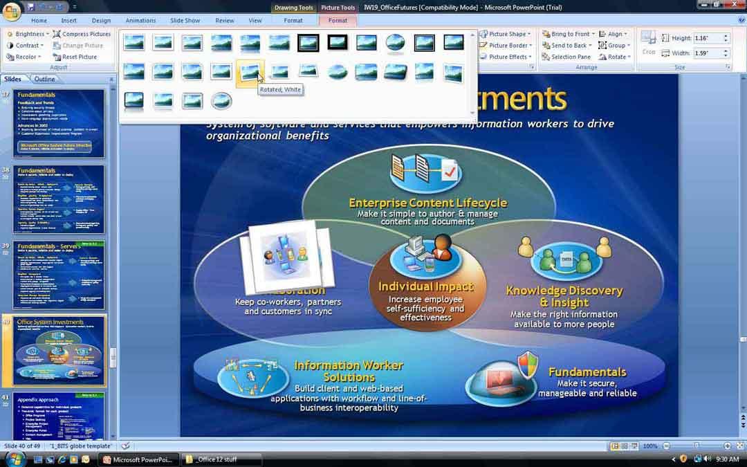 Power Point Screenshot