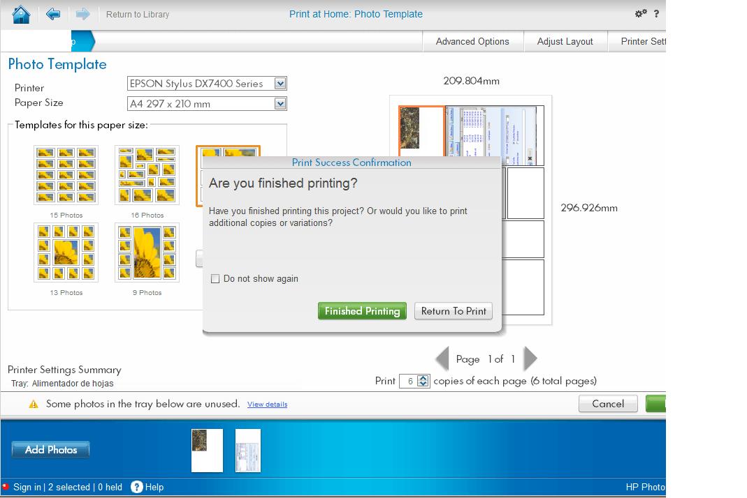 Printing Task