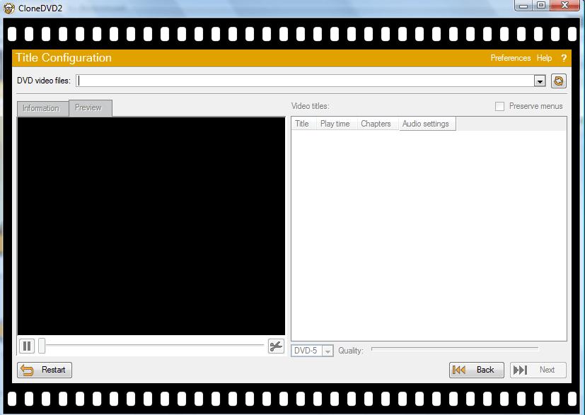 Copy DVD