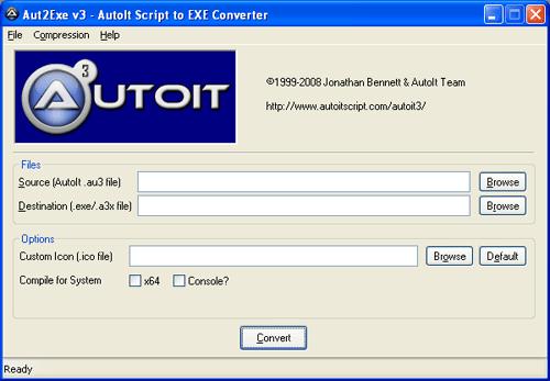 Autolt Script To EXE Converter