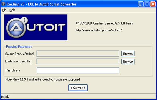 EXE to Autolt Script Converter