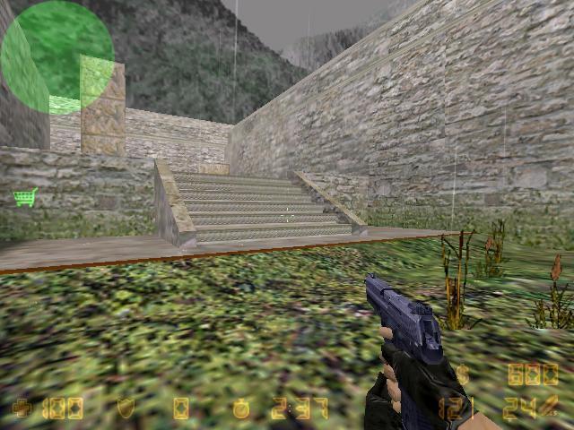 Screenshot of an aztec map