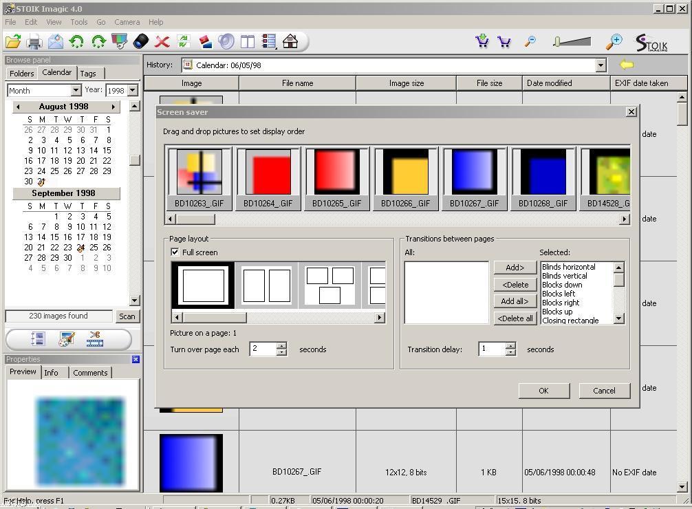 Create Screensaver