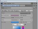 Video Track Fx Window