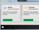 Convert To OpenOffice Options