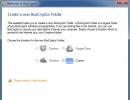 Creating BoxCryptor Folder