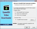 Installing SpeedBit Video downloader