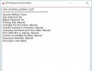 PDF Password Information