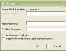 FreshUI Password