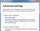 Configuring Advanced Settings