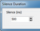 Setting Silence Duration