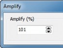 Configuring Amplify Setting