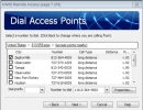 Dial Access Points Window