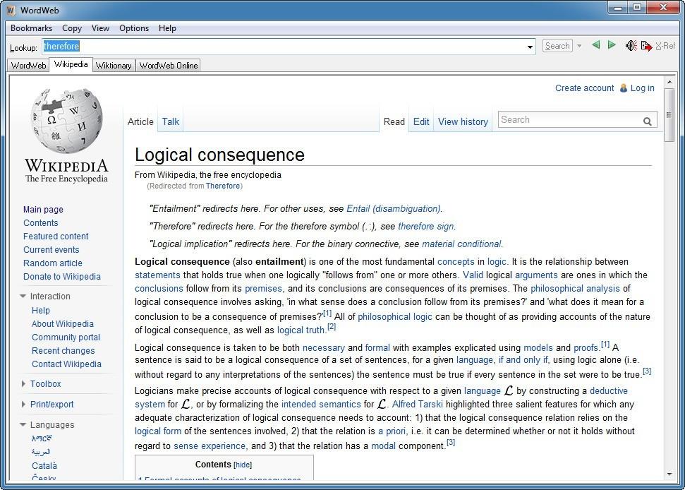 Wikipedia Explanation