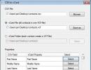 Changing VCF Encoding