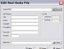 Edit Real Media files