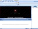 Main window - Extract tab