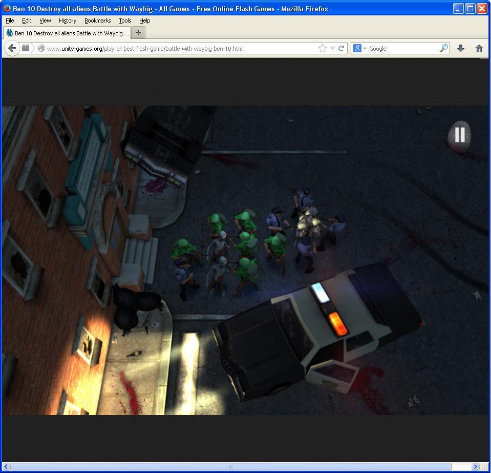 Browser gameplay Window