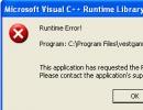 Error clicking on \
