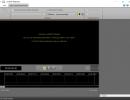 Settings toolbar