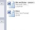 Lesson files