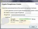 Password Config Window