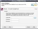 Step 1 : Choose a MDB (ms access) file