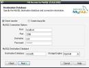Step 2 : Entering remote/local MYSQL login information
